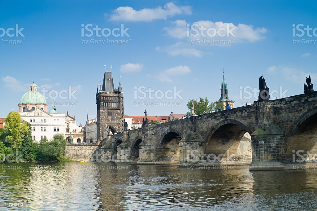 Charles Bridge royalty-free stock photo