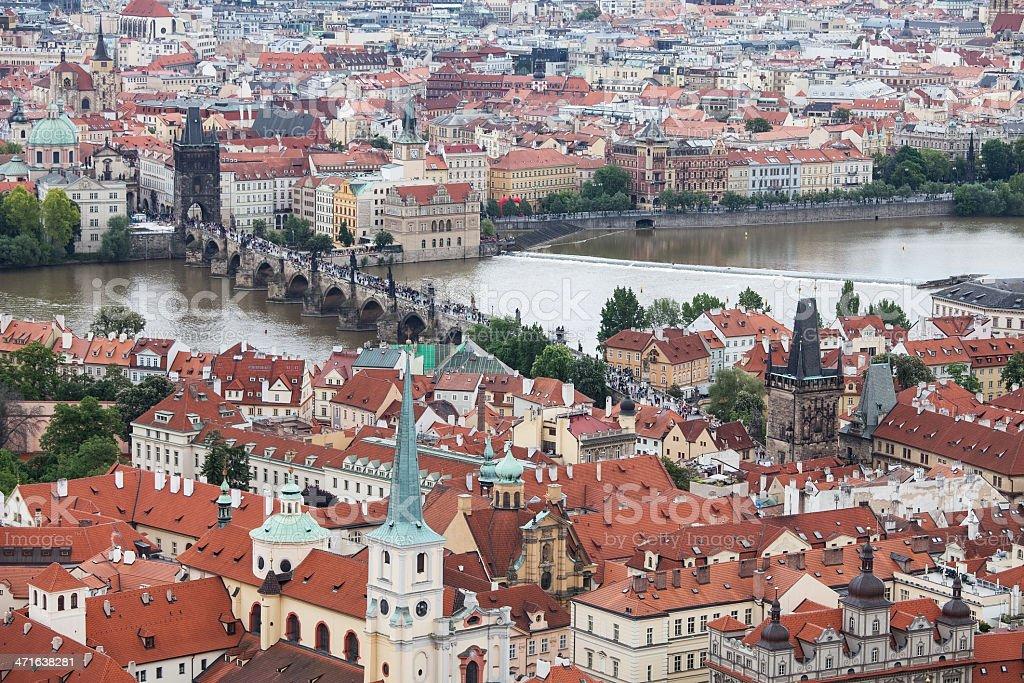 Charles bridge, Prague, Czech Republic,, royalty-free stock photo
