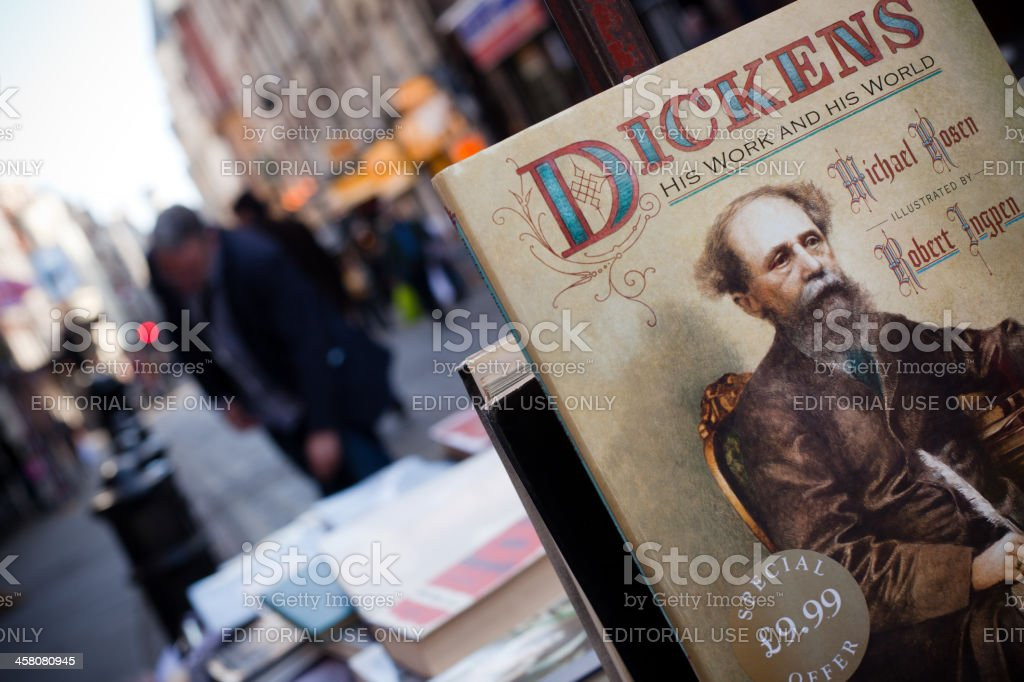 Charles Dickens Book royalty-free stock photo