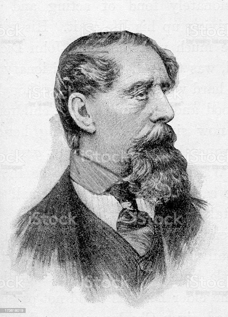 Charles Dickens stock photo