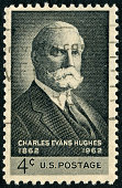 Charles Evans Hughes Stamp