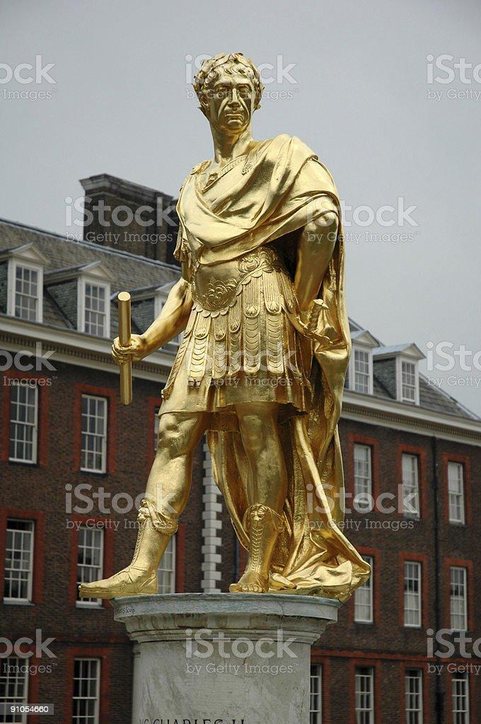 Charles II Roman royalty-free stock photo
