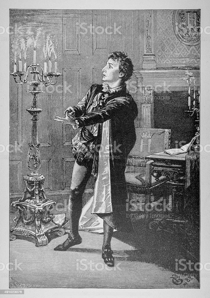 Charles IX King Of France stock photo