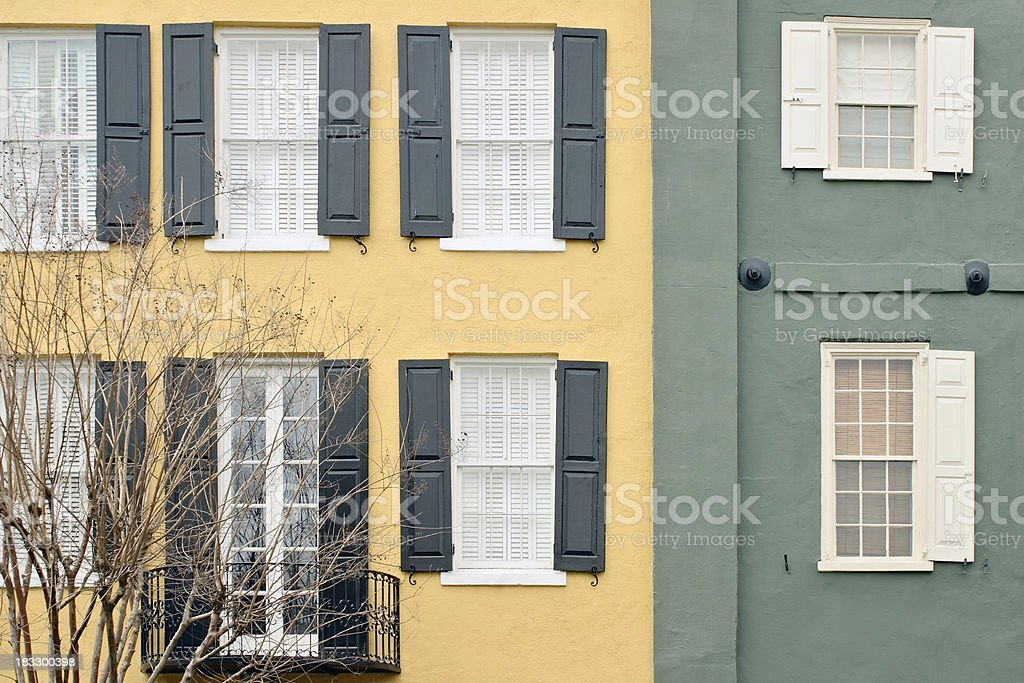 Charleston architectural detail #4 royalty-free stock photo