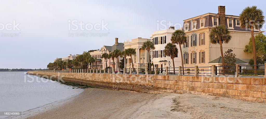 Charleston at Dawn royalty-free stock photo