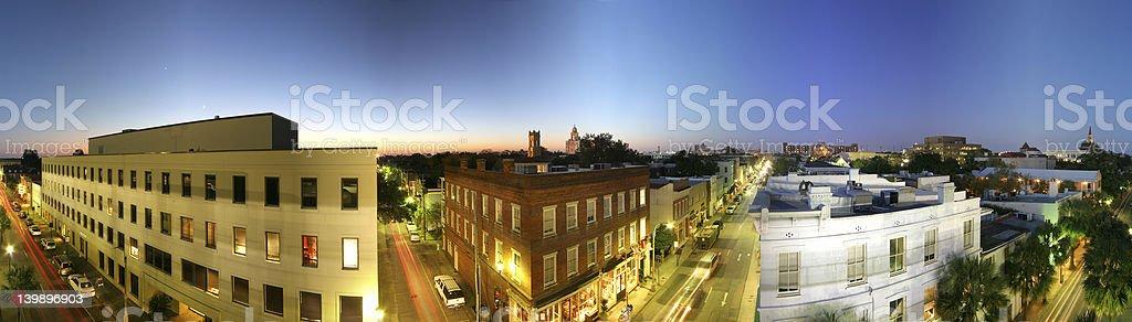 Charleston Cityscape royalty-free stock photo