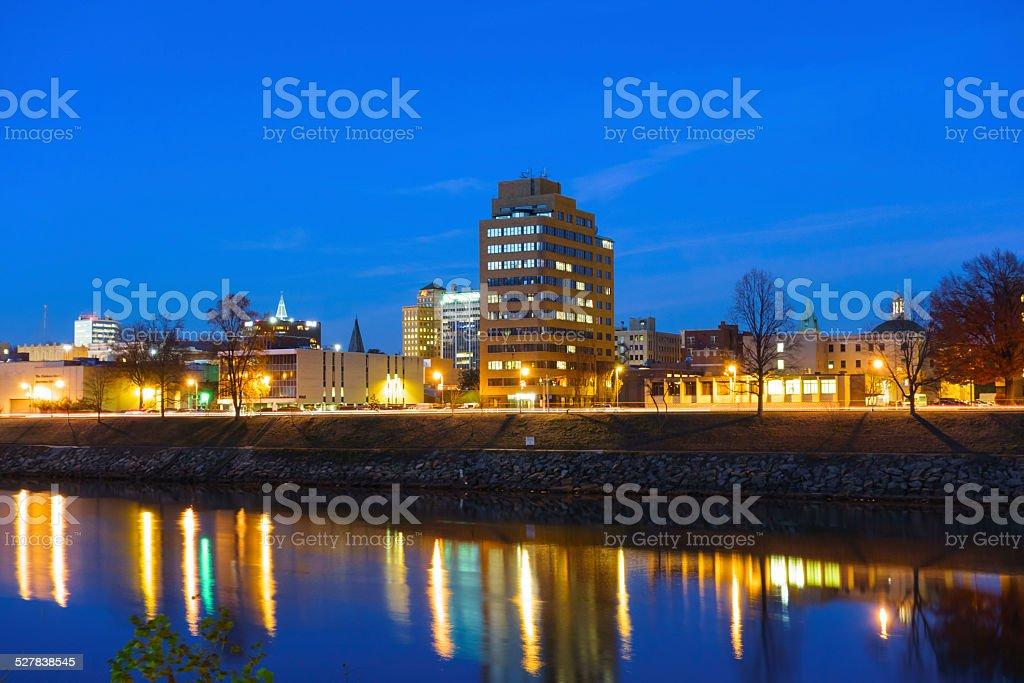 Charleston Cityscape, West Virginia, USA stock photo