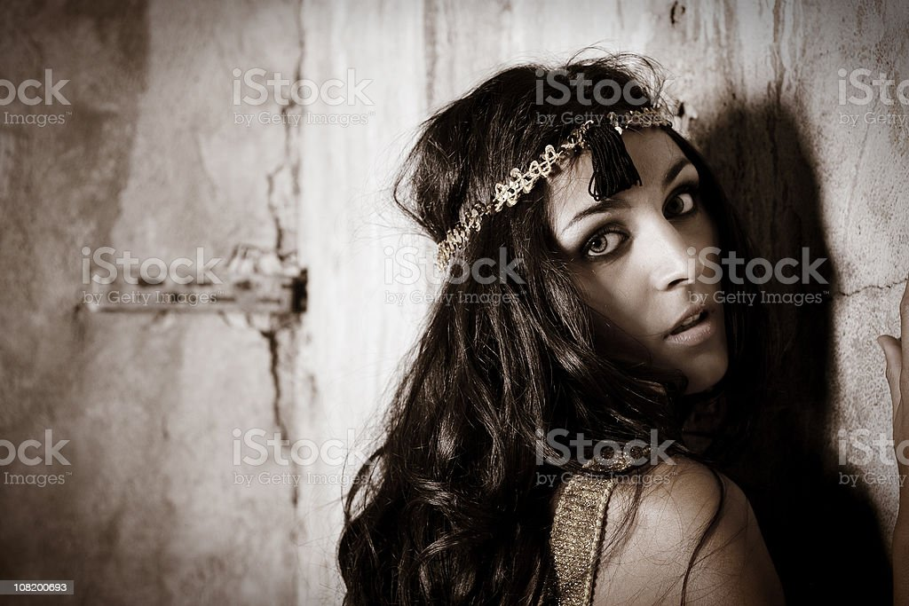 Charleston Girl royalty-free stock photo