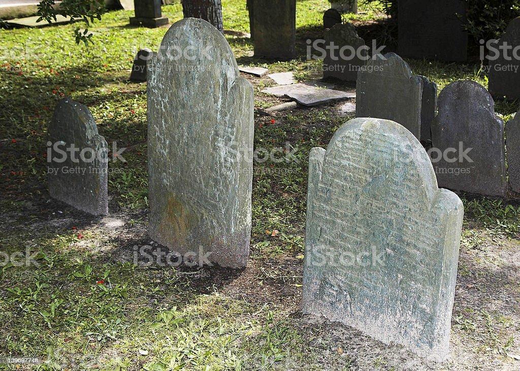 Charleston Graveyard stock photo