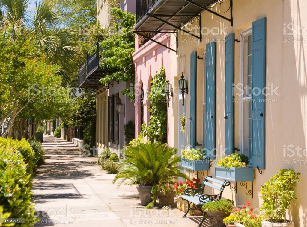 Charleston: Historic Architecture royalty-free stock photo