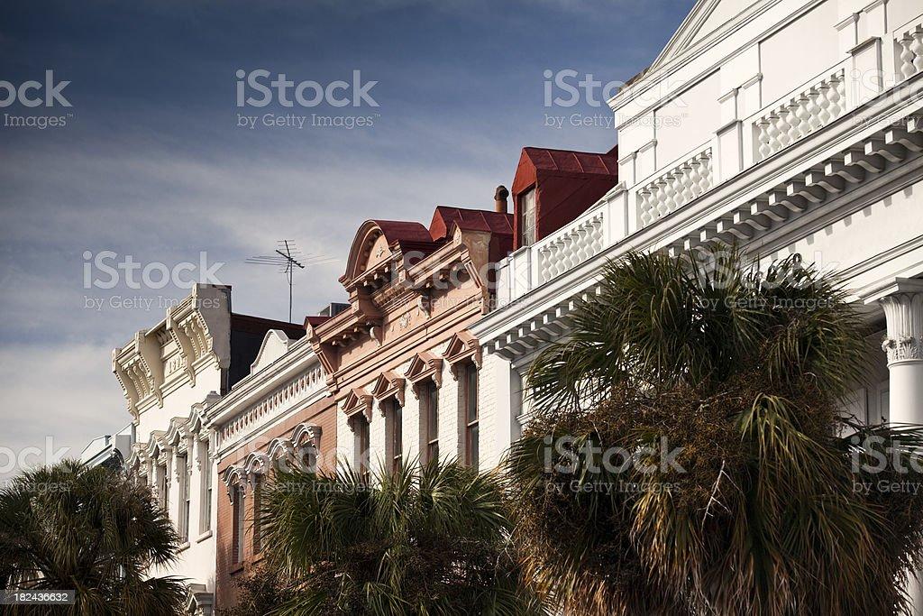 Charleston SC shopping district royalty-free stock photo