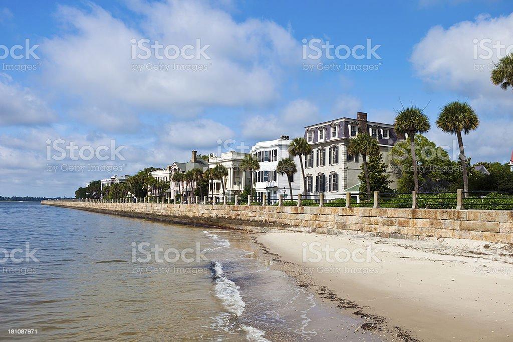 Charleston, South Carolina Waterfront royalty-free stock photo