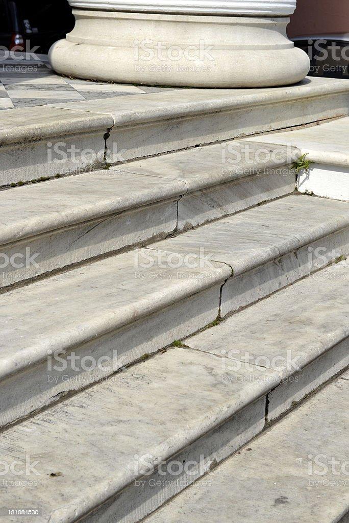 Charleston Stairs royalty-free stock photo