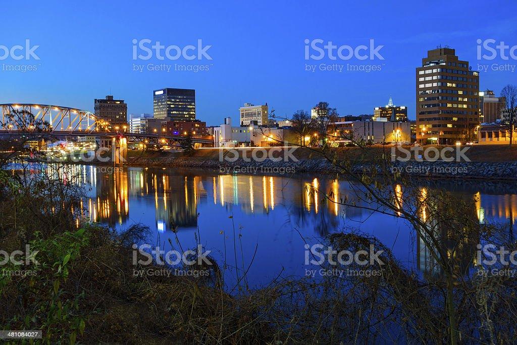 Charleston, West Virginia stock photo