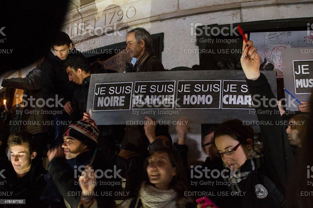 Charlie Hebdo royalty-free stock photo