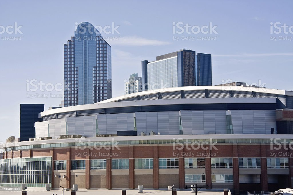 Charlotte Bobcats Arena stock photo