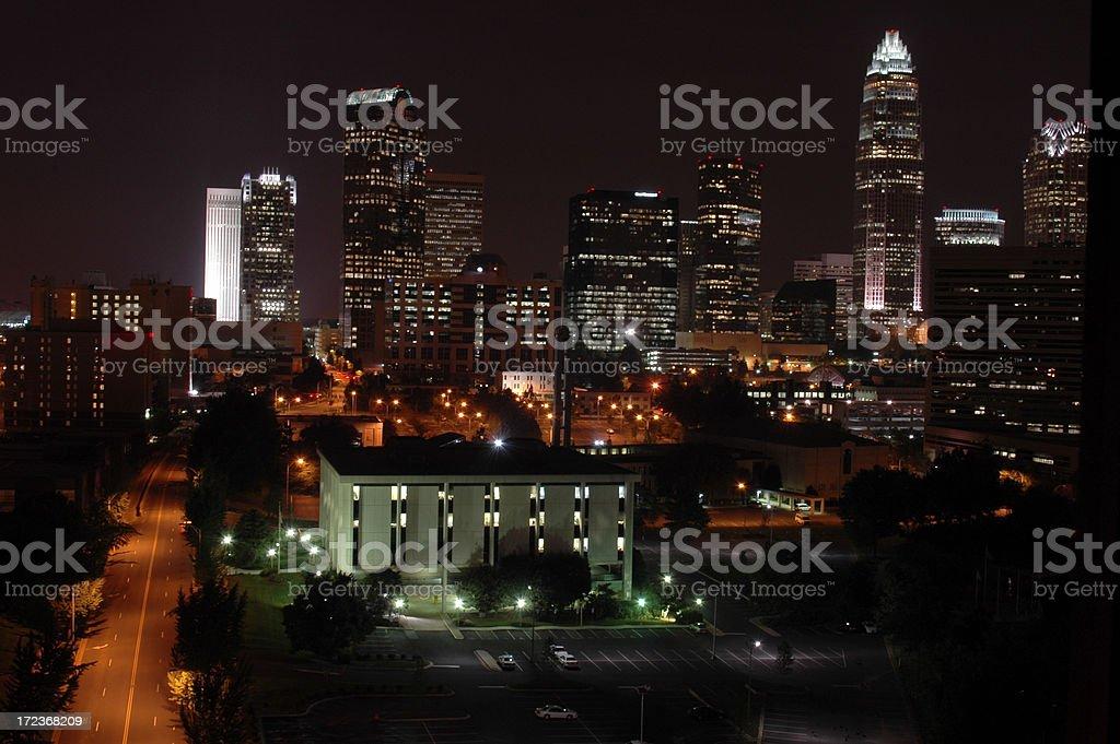 Charlotte, North Carolina royalty-free stock photo