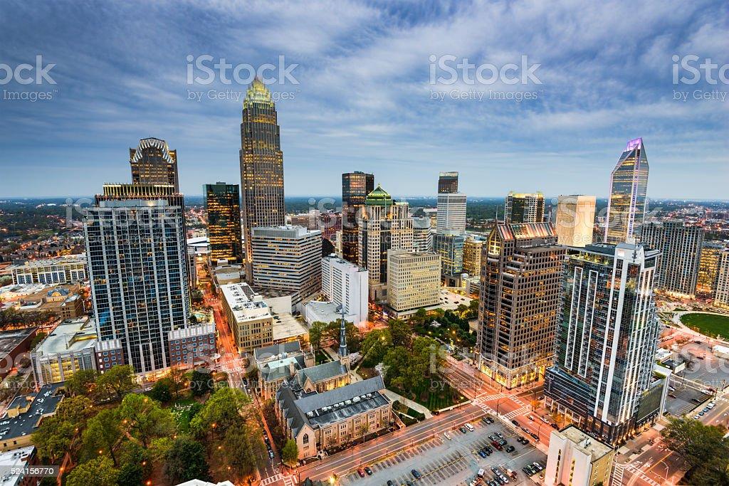 Charlotte North Carolina stock photo
