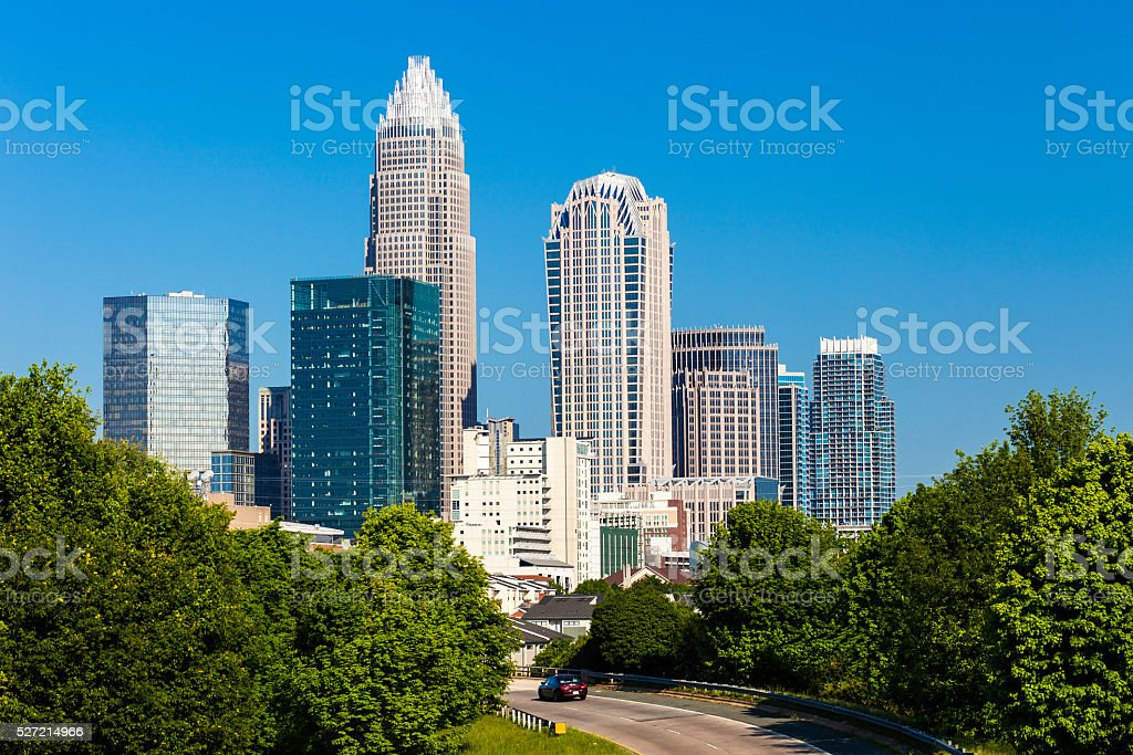 Charlotte, North Carolina stock photo