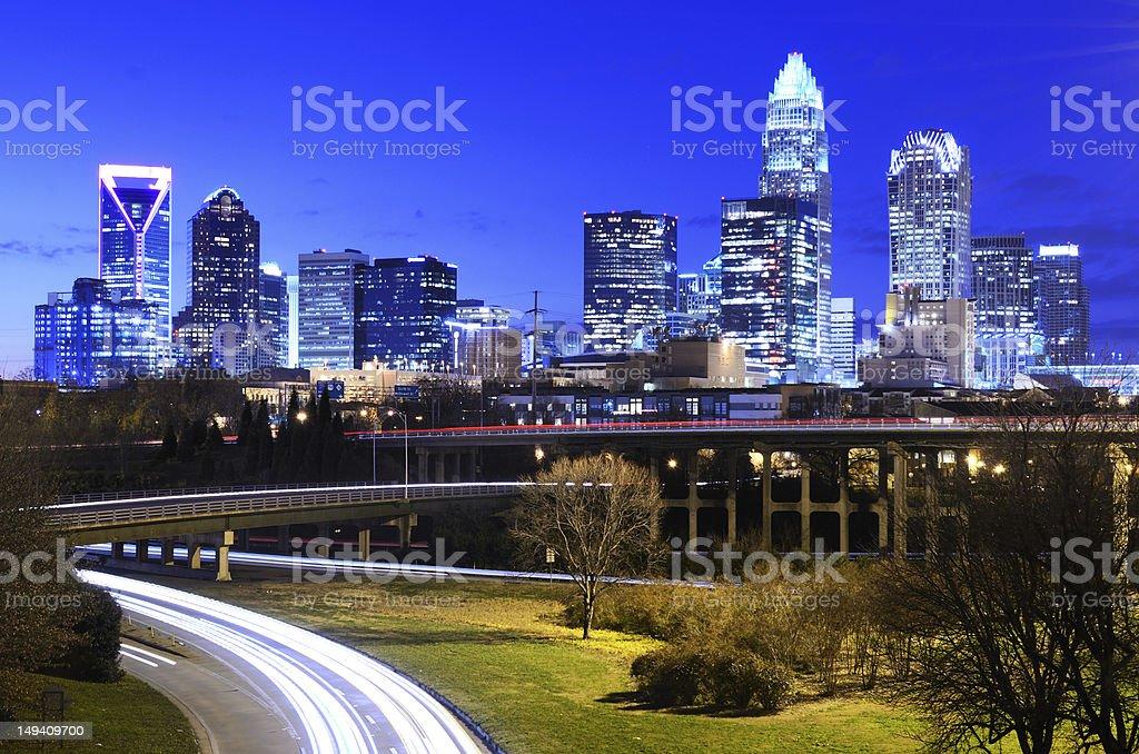Charlotte stock photo