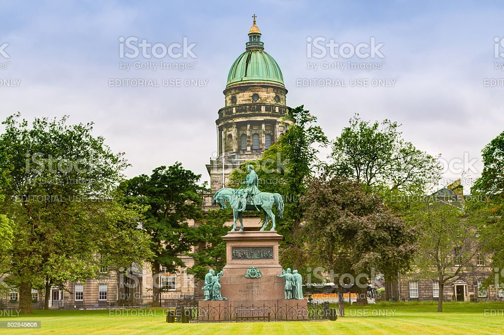 Charlotte Square, Edinburgh, Scotland, United Kingdom. stock photo