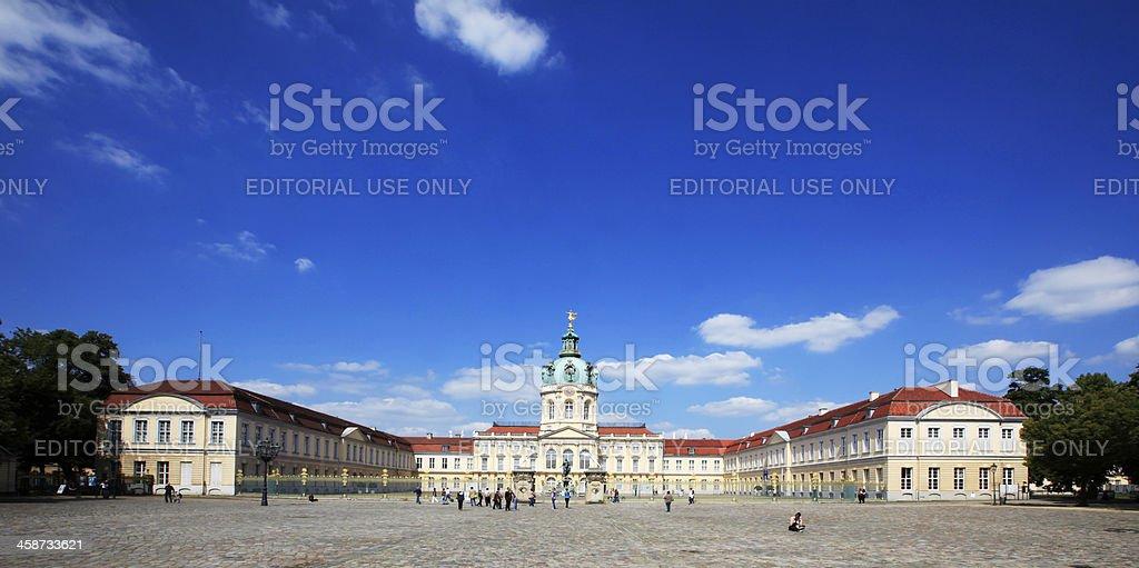 Charlottenburg Palace royalty-free stock photo