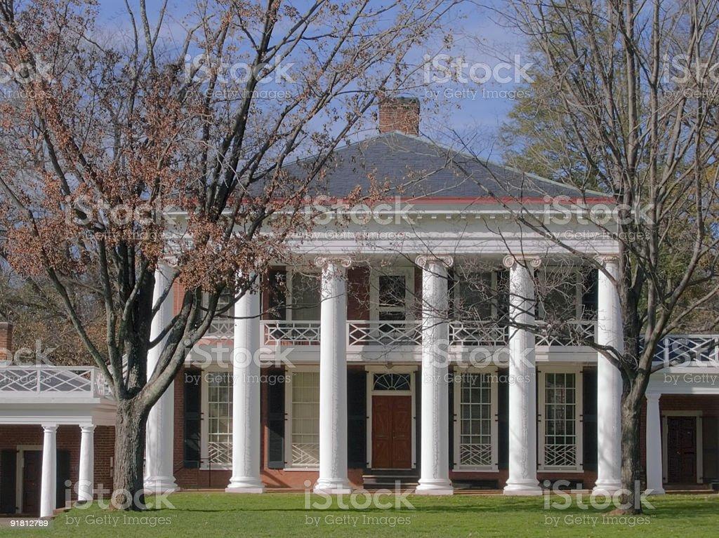 Charlottesville - University of Virginia stock photo