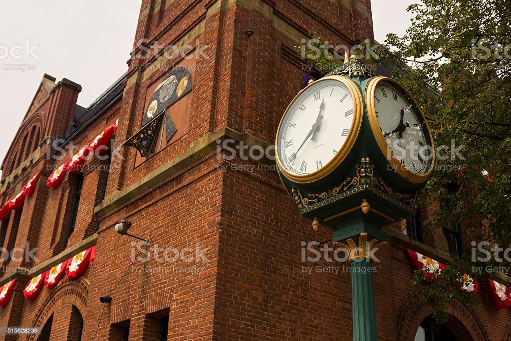 Charlottetown City Hall in Prince Edward Island stock photo