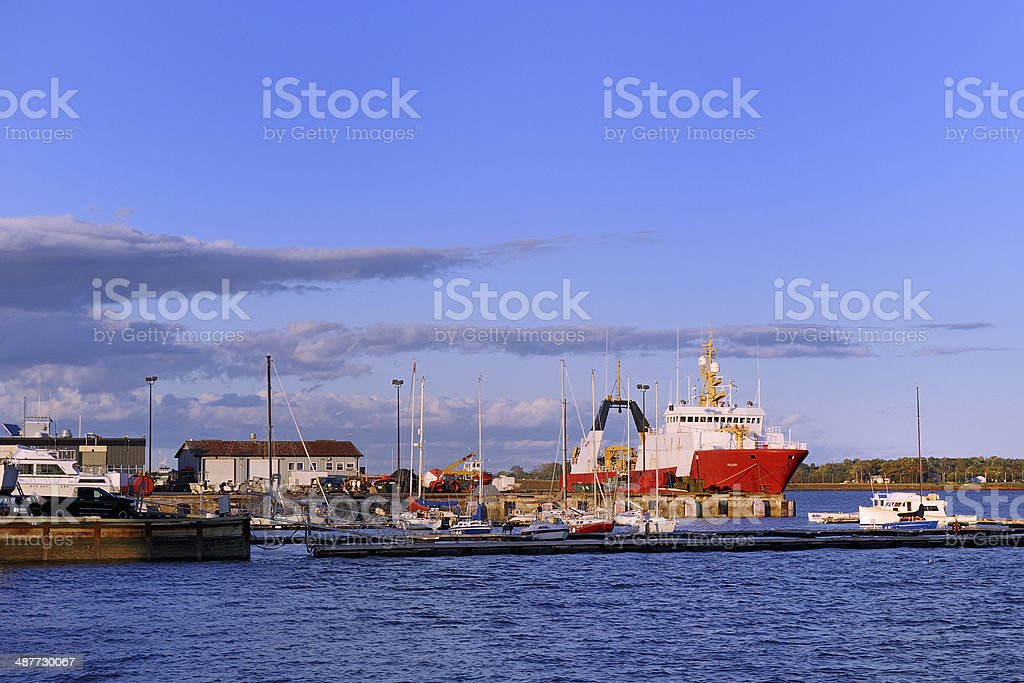 Charlottetown  Harbor stock photo