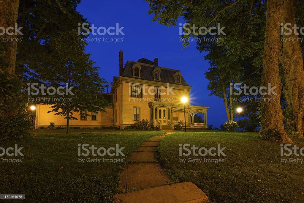 Charlottetown, Prince Edward Island, Canada stock photo