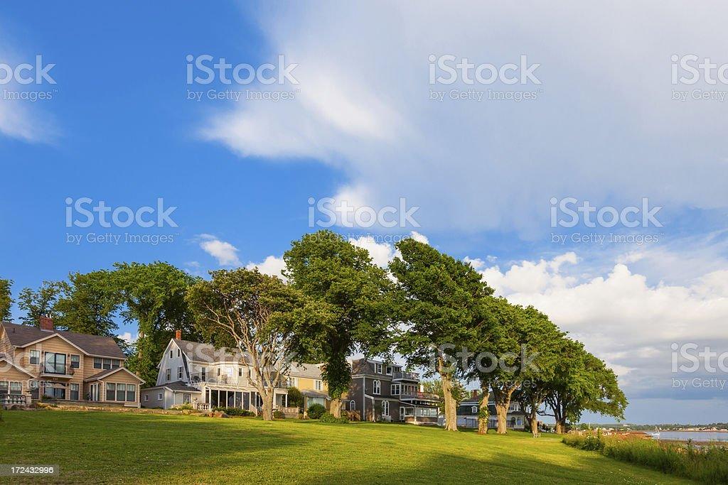 Charlottetown Villas, Prince Edward Island, Canada stock photo