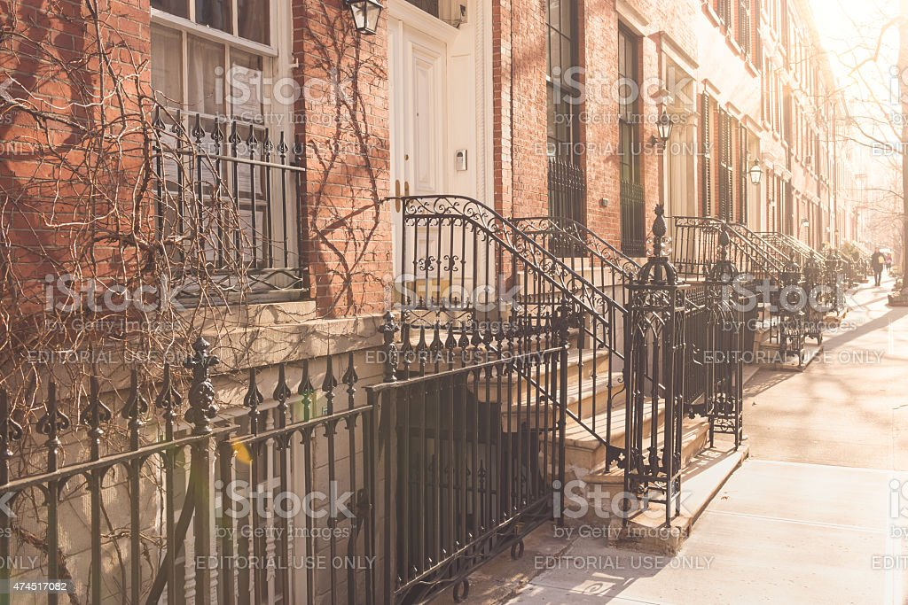 Charlton Street stock photo