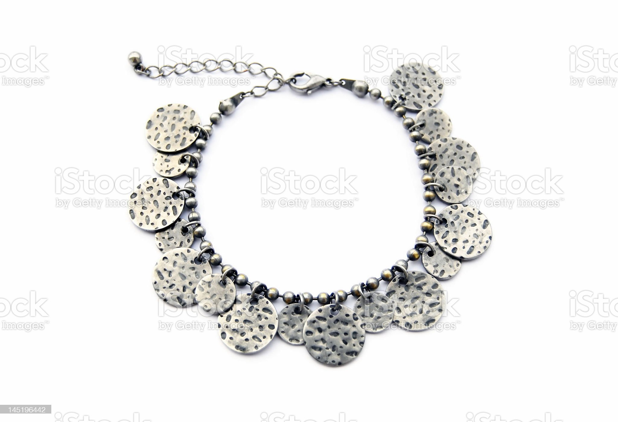 Charm bracelet royalty-free stock photo