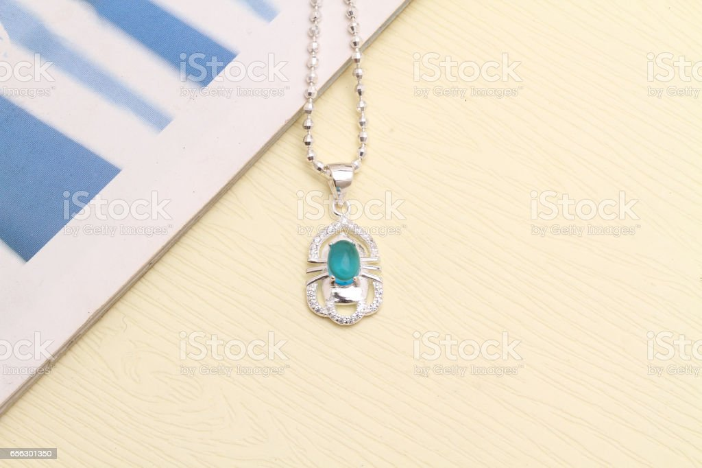 Charm Necklace stock photo
