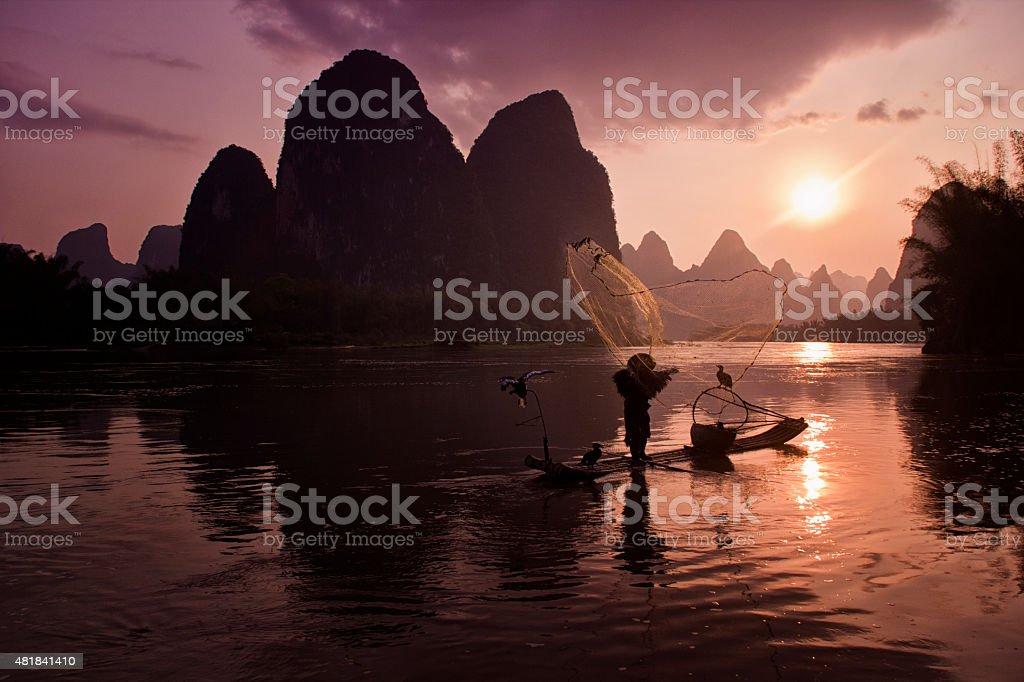 Charm of China stock photo