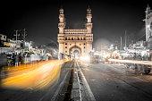 Charminar Mosque in Hyderabad, India