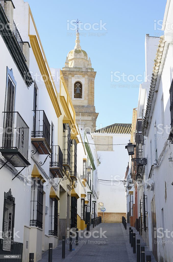 Charming Andalusian street royalty-free stock photo