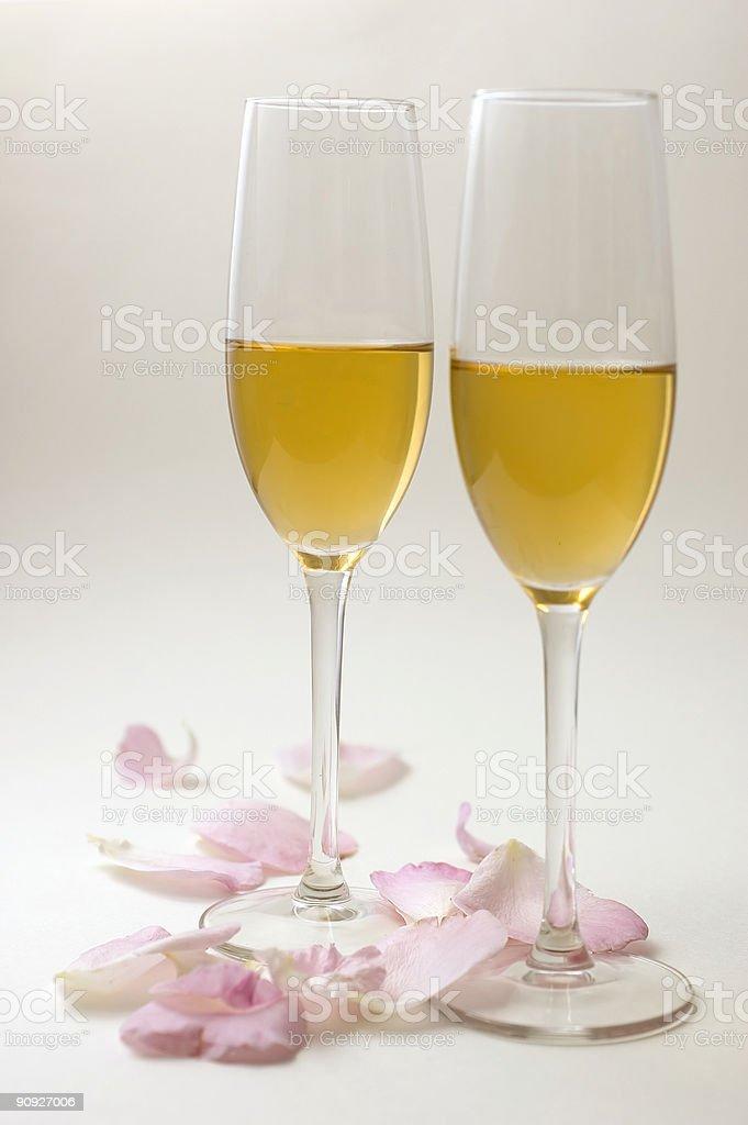 Affascinante champaign foto stock royalty-free