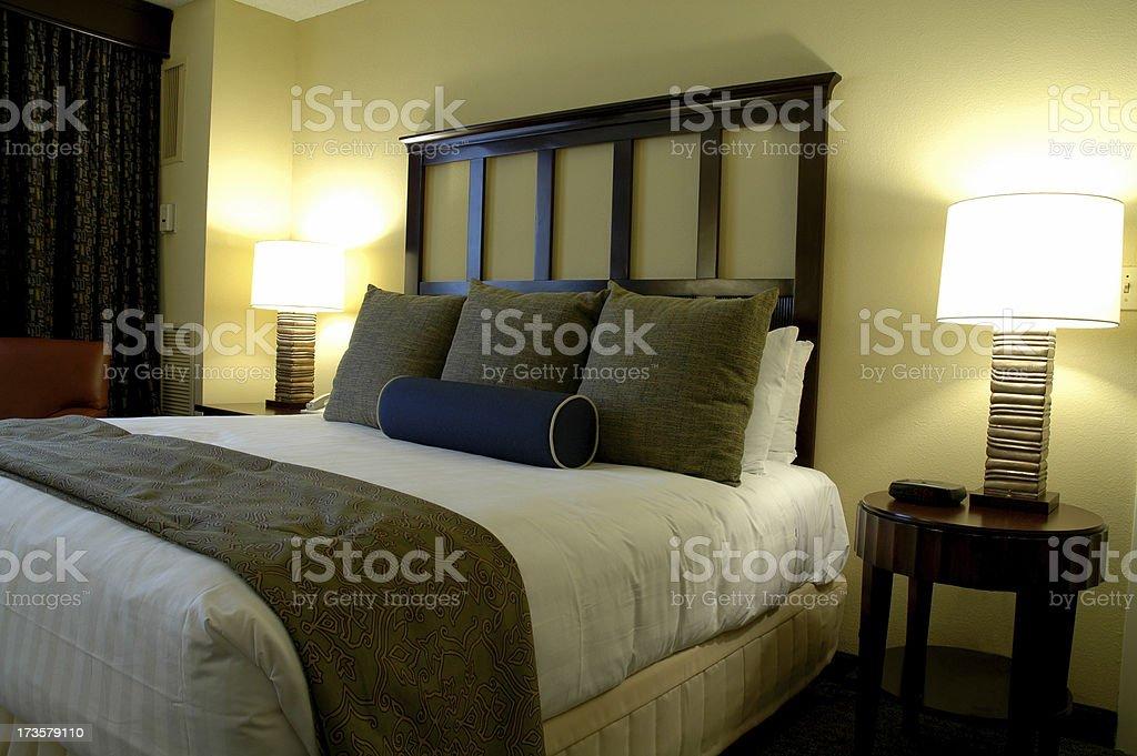 charming hotel room royalty-free stock photo