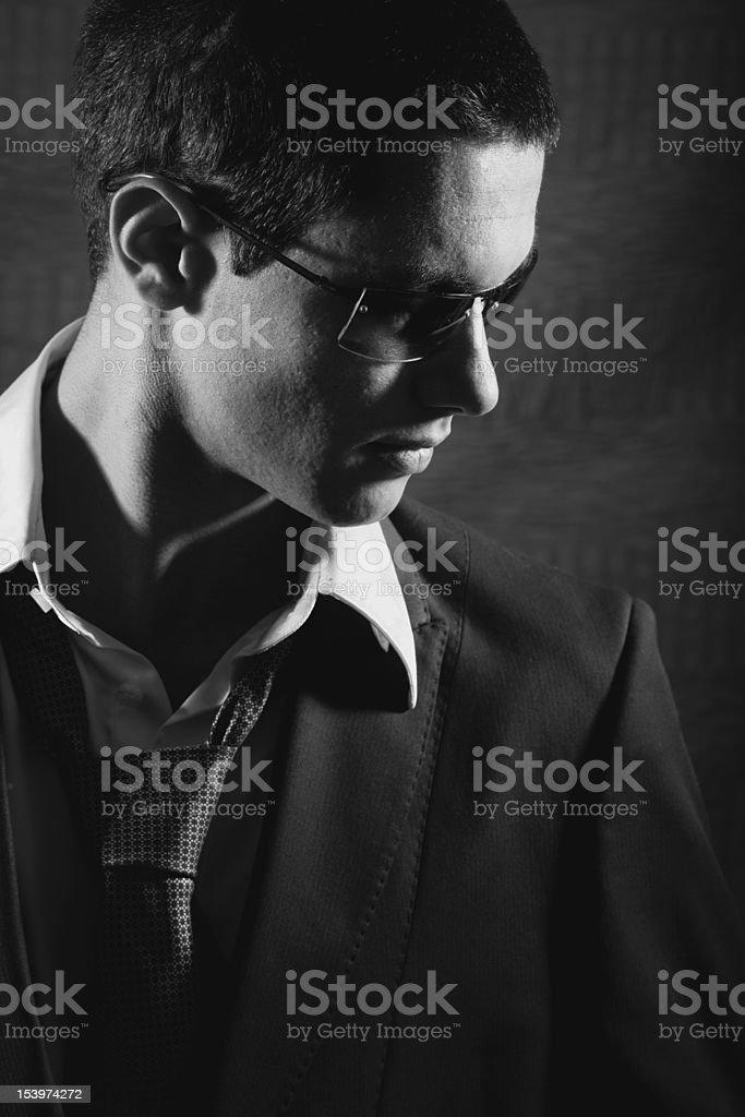 charming portrait of businessman royalty-free stock photo
