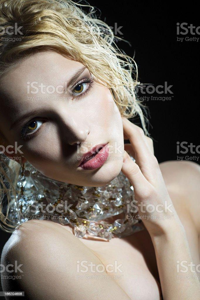 Charming portrait royalty-free stock photo