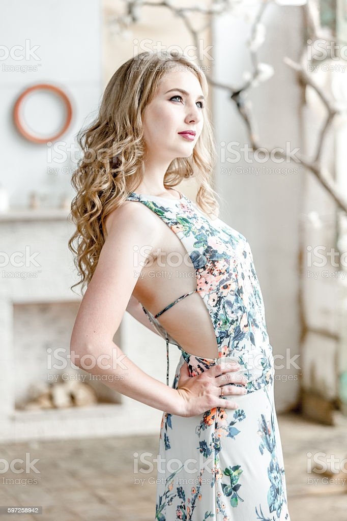 Charming Seductive Woman stock photo