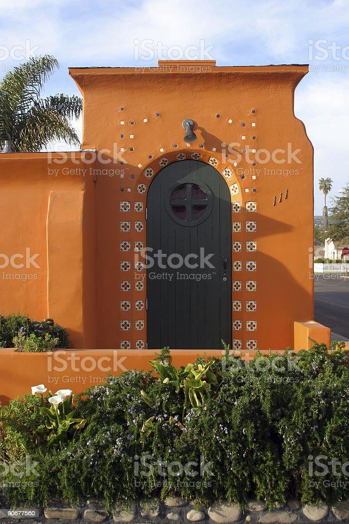 Charming Spanish Casita stock photo
