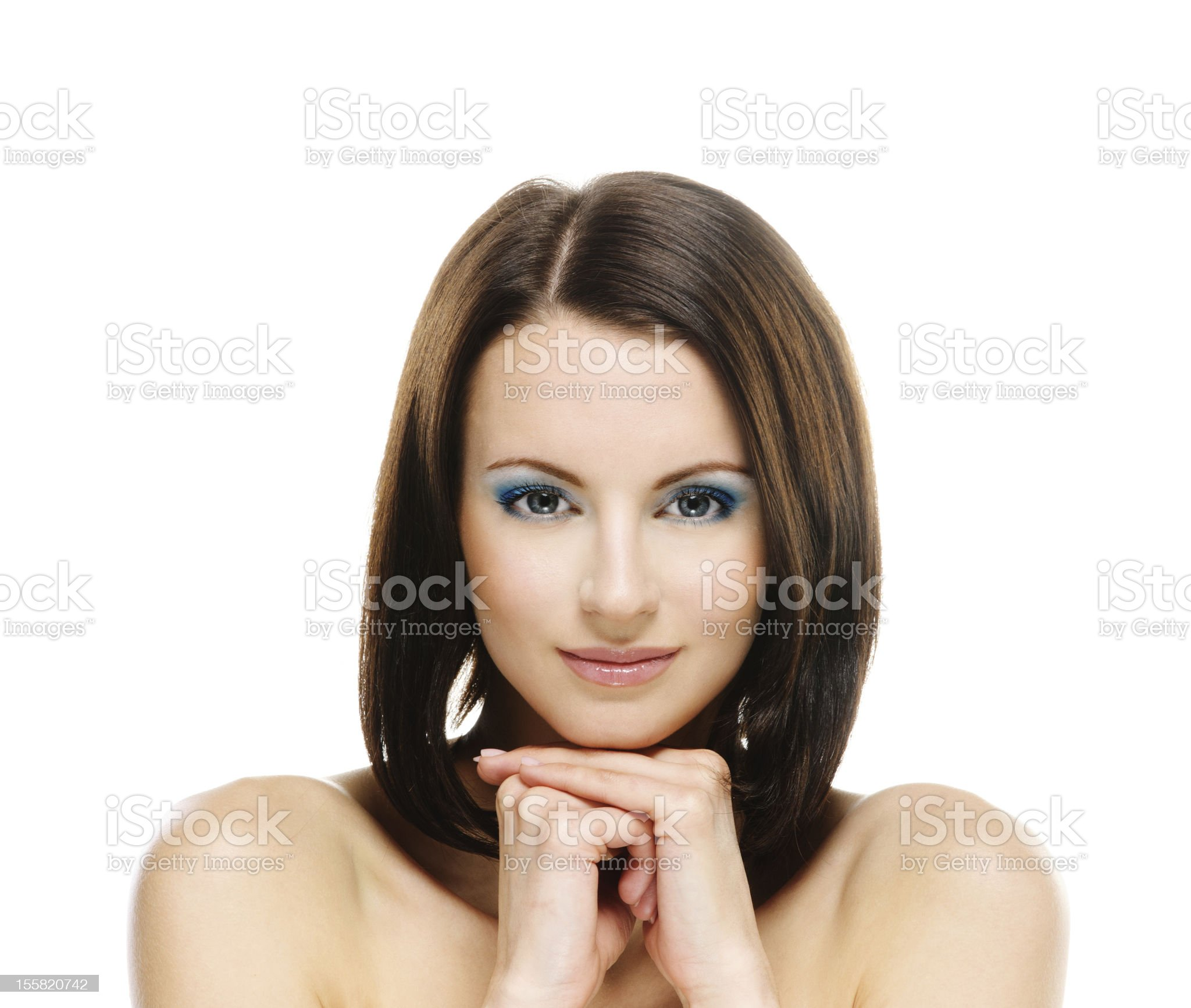 Charming young woman royalty-free stock photo
