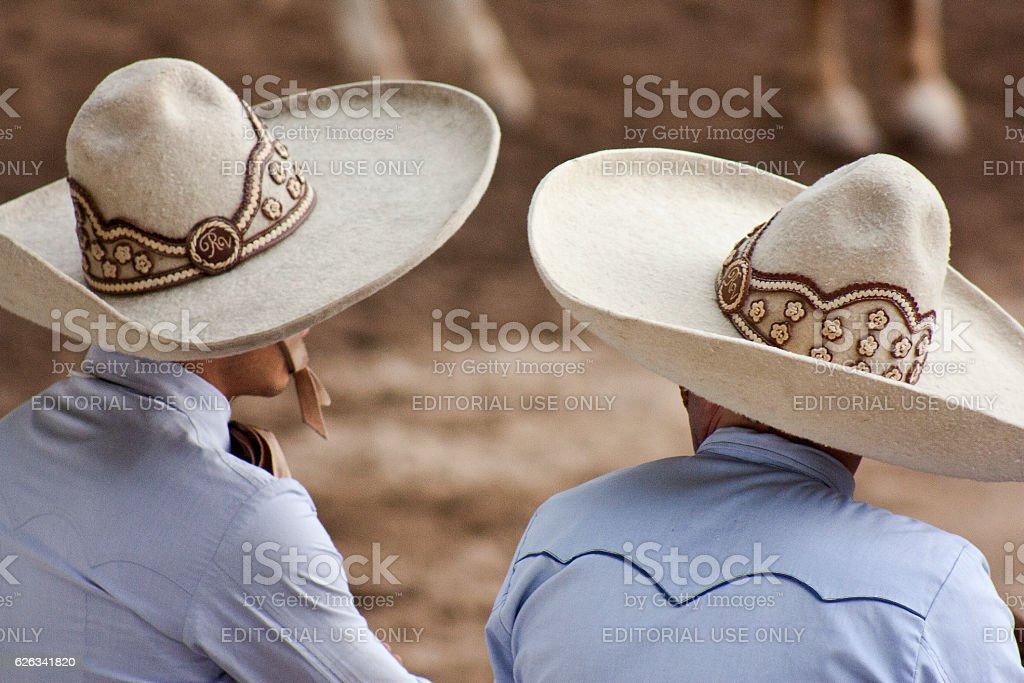 charros hat stock photo