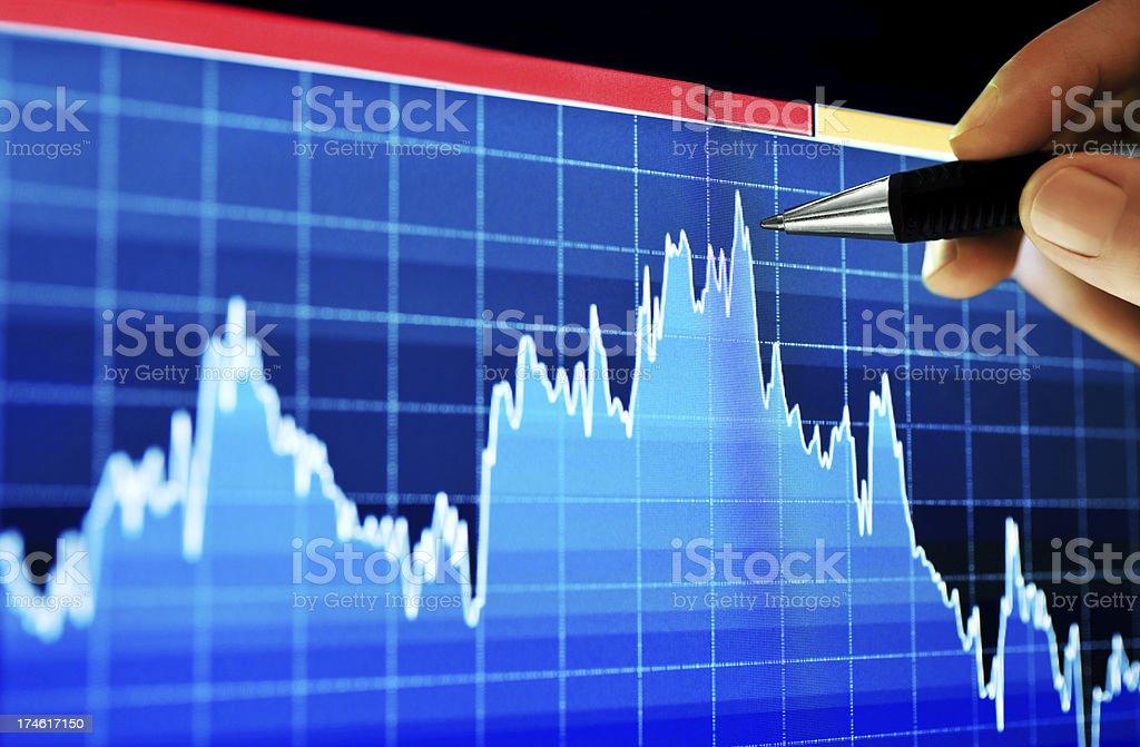 Chart Analyze royalty-free stock photo