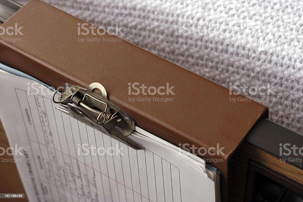 chart hanger royalty-free stock photo