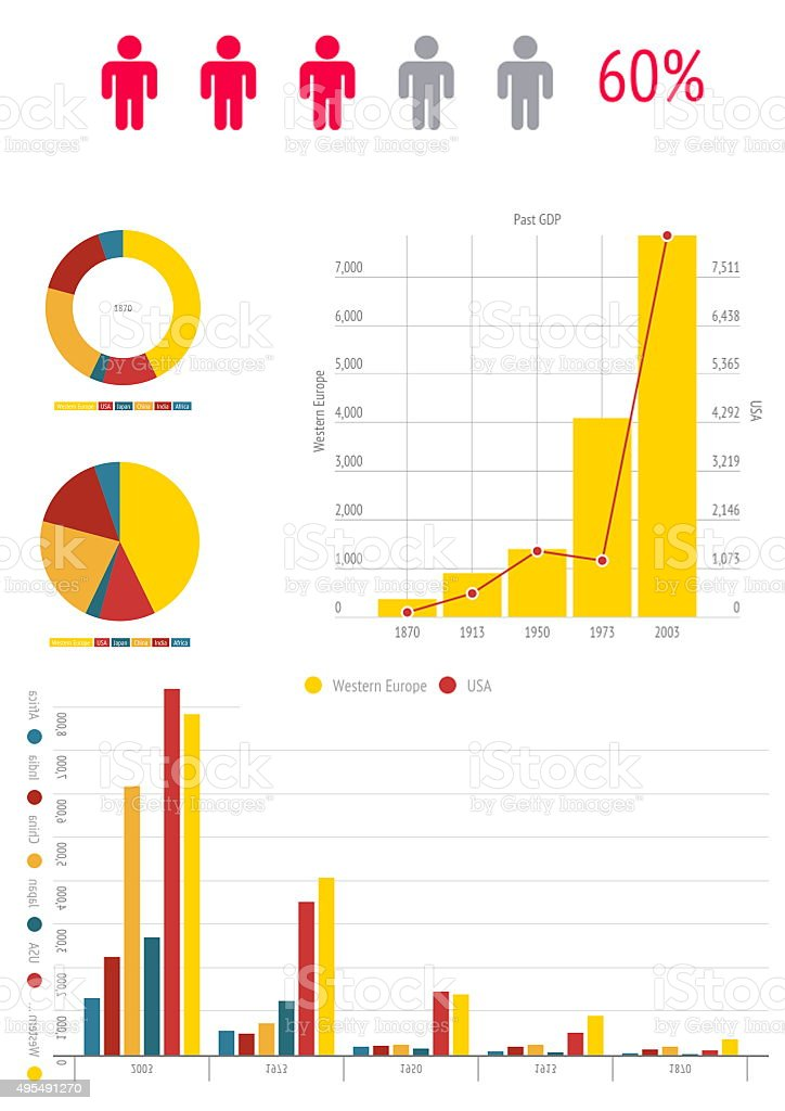 chart infographic documents and business  analyze stock photo