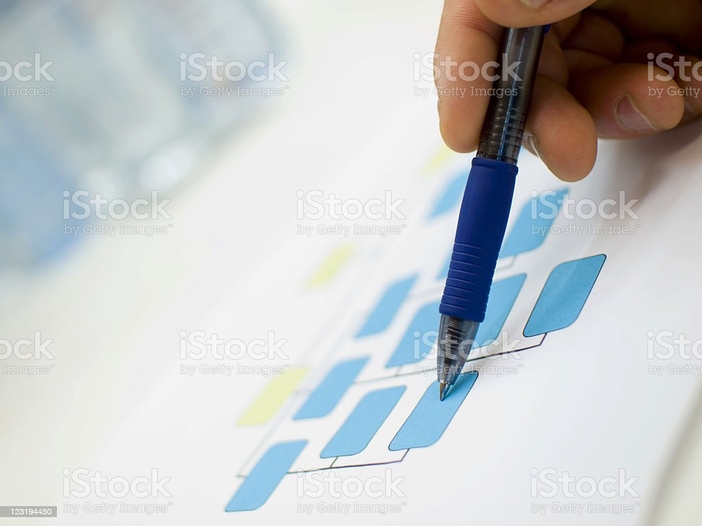 Chart royalty-free stock photo