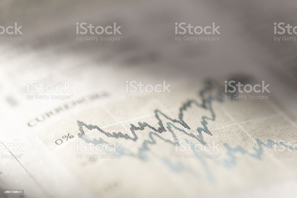 Chart. stock photo